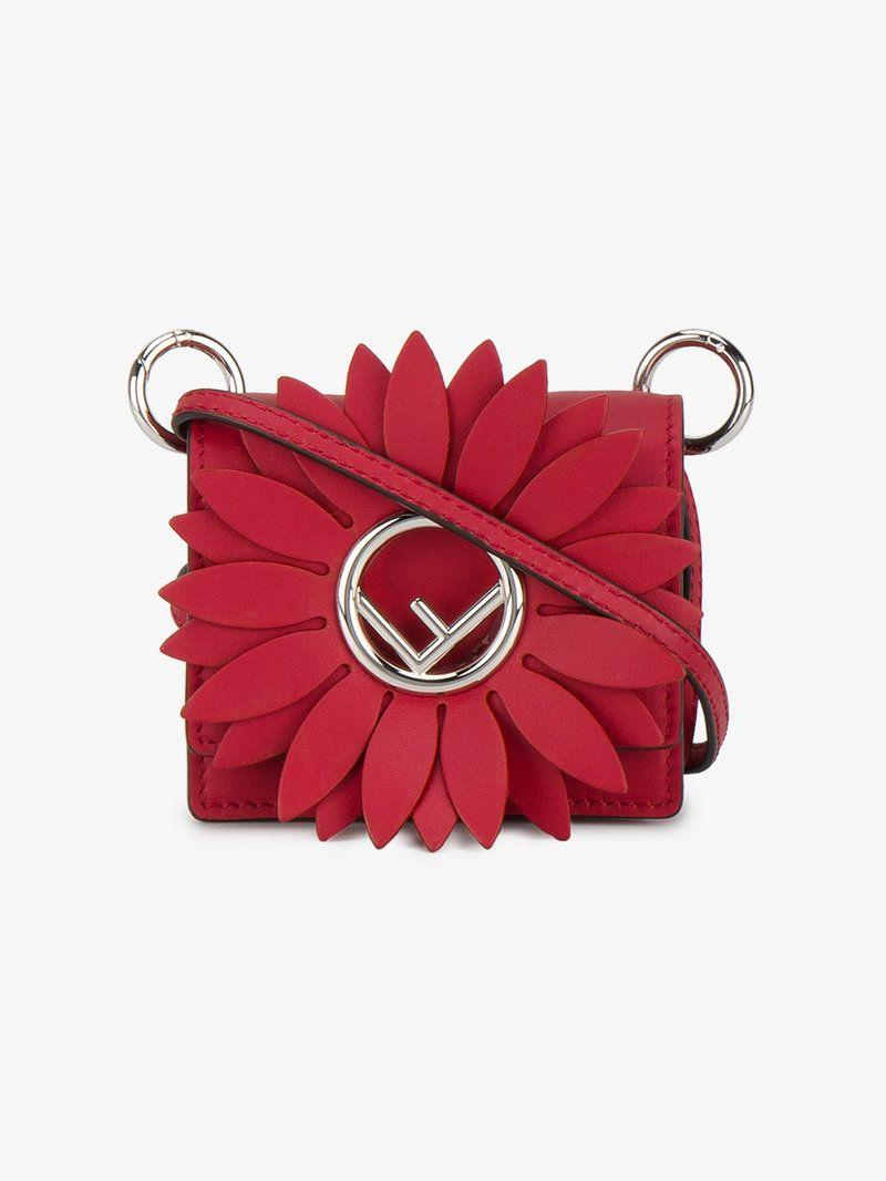 41186f477eb9 FENDI KAN I F MICRO-BAG.  fendi  bags  shoulder bags  leather ...