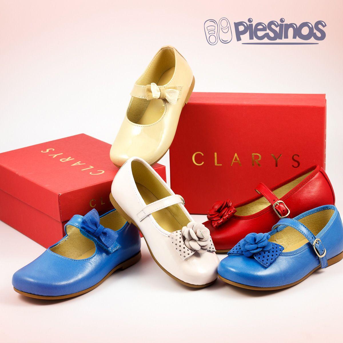 Maravillosos modelos de Clarys los que acabamos de recibir... y a tiempo para estrenar en Ramos. No te quedes sin ellos!! http://www.piesinos.es/16_clarys #clarys #calzadoinfantil #calzado #niña #vestir #elegante