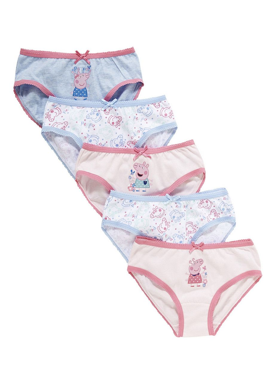 14077d1d3487 Clothing at Tesco | Peppa Pig 5 Pack of Briefs > underwear > Socks &  Underwear > Kids