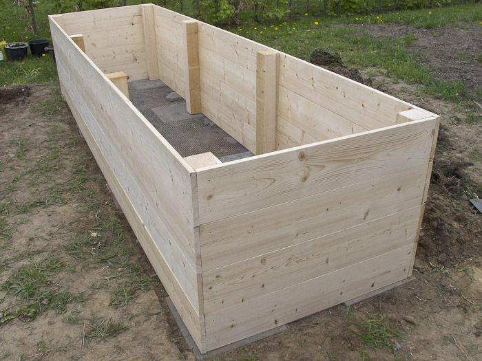 Hochbeet Bauen Vesab De Hochbeet Garten Hochbeet Und Hochbeet Bauen