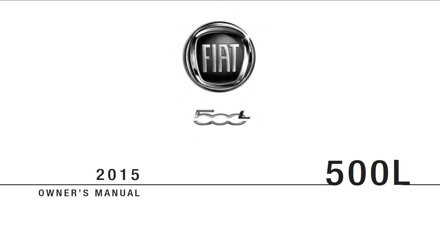 Fiat 500L 2015 Owner's Manual has been published on