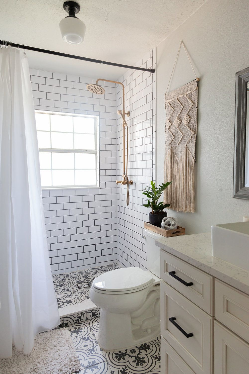 Diy Bathroom Remodel On A Budget And Thoughts On Renovating In Phases Diy Bathroom Remodel Bathrooms Remodel Budget Bathroom Remodel