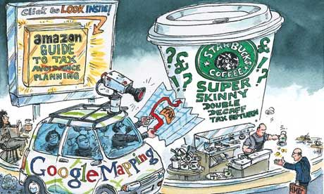 Starbucks, Amazon and Google are dodging UK taxes. Should we give up our lattes til they pay up?