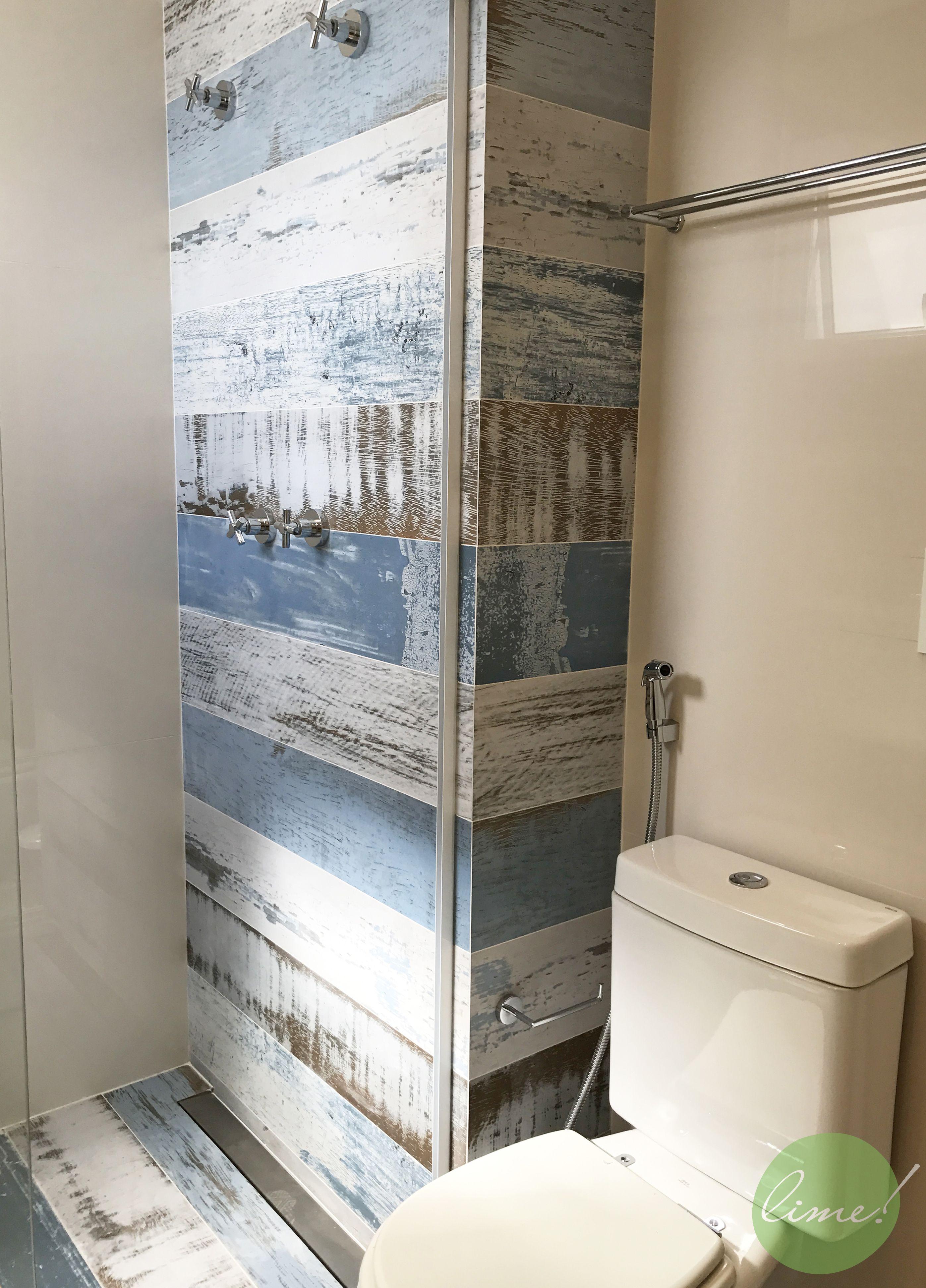 Banheiro Master O Revestimento Ecoville Da Decortiles é O Destaque