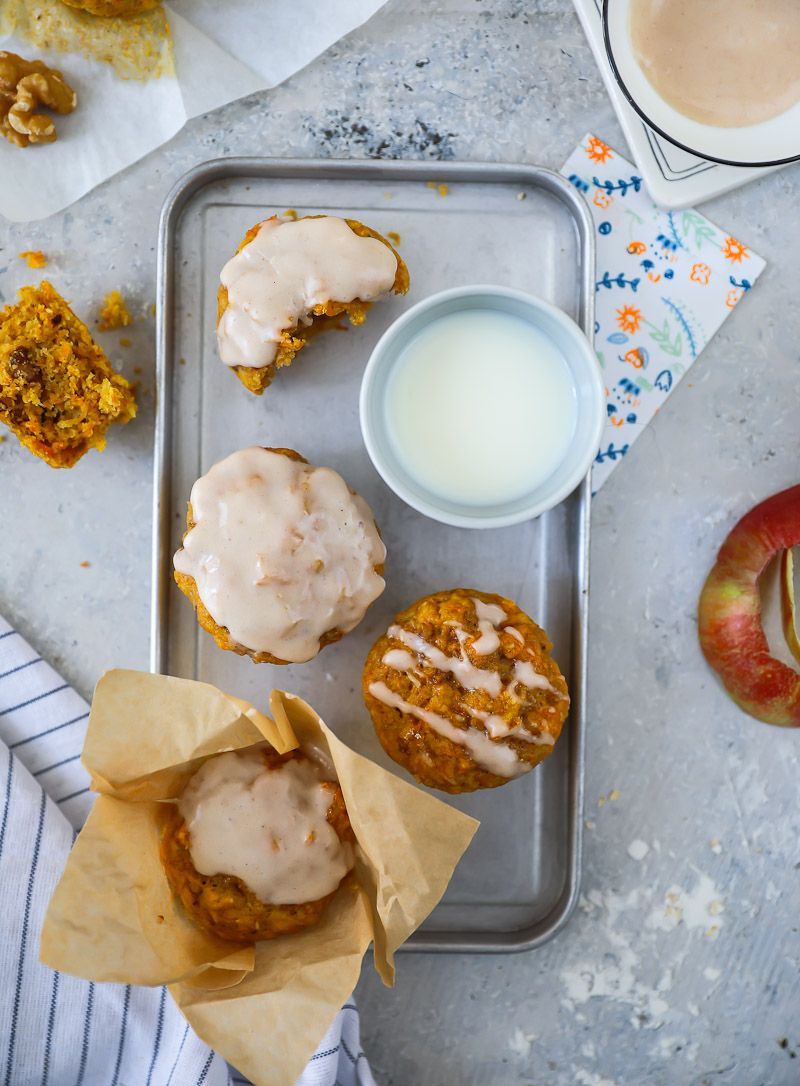 Rezept für Apfel-Möhren-Muffins / apple carrot muffins ...