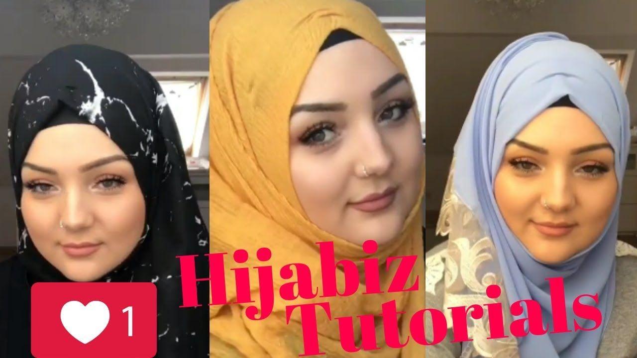 لفات حجاب سريعة و سهلة في أقل من دقيقة Hijab Muslimah Hijab Fashion