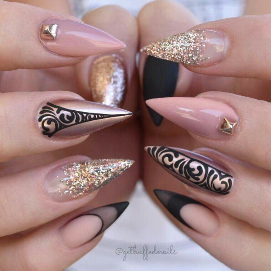 Pin by Klára Jamous on Ideeas for nails   Pinterest   Gorgeous nails ...