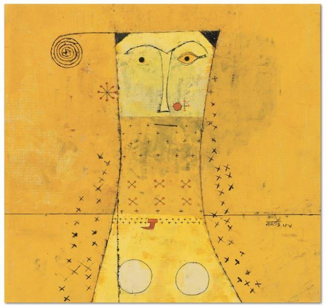 V. S. Gaitonde at the Peggy Guggenheim Collection by