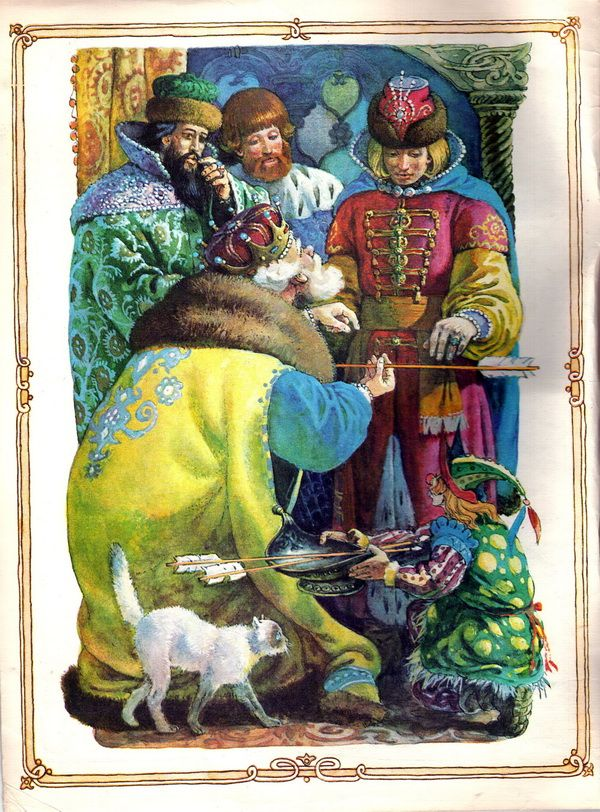 картинки сказки царевны лягушки народная сказка