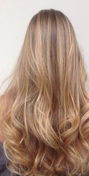 Auburn Blonde And Funky Hair Color Ideas Hair Styles Honey Hair Color Honey Blonde Hair