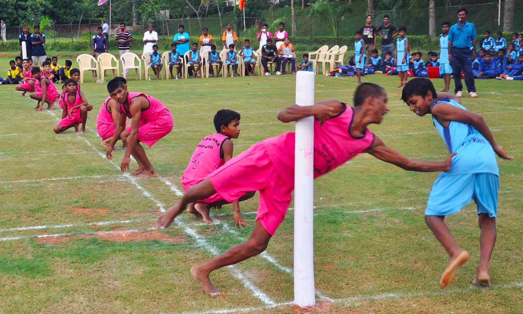 Story Getting Local & Know The Game of Kho Kho Bucket