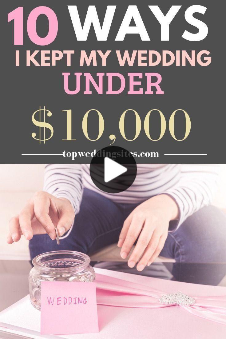 Photo of 10 maneras en que mantengo mi boda por debajo de $ 10,000