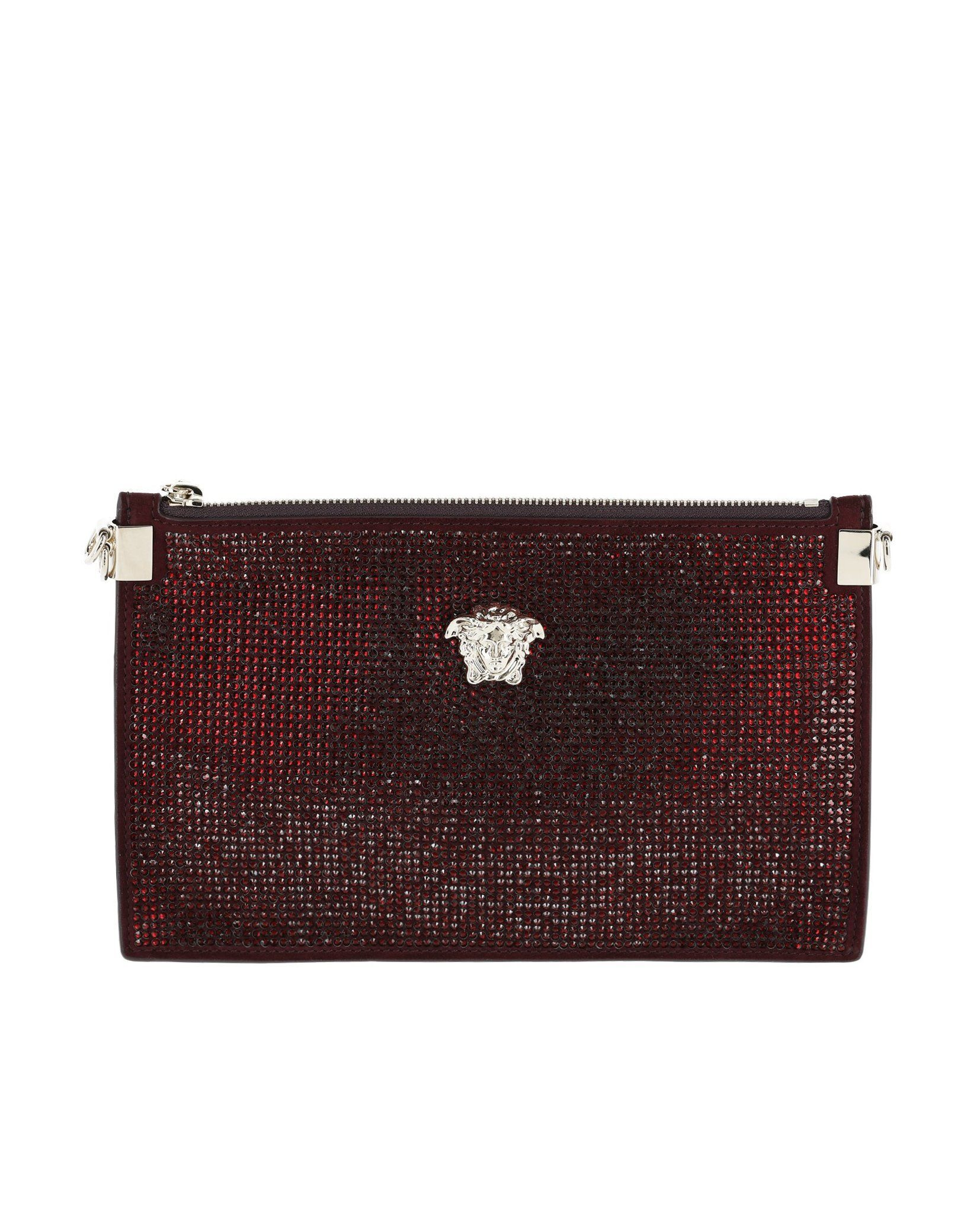 ca7ed7bc3a Versace Crystal Palazzo Evening Pouch | Designer Handbags On Sale ...