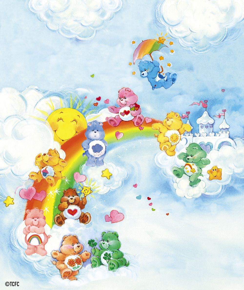 Care Bears Wallpaper: Care Bears Group I By American Greetings
