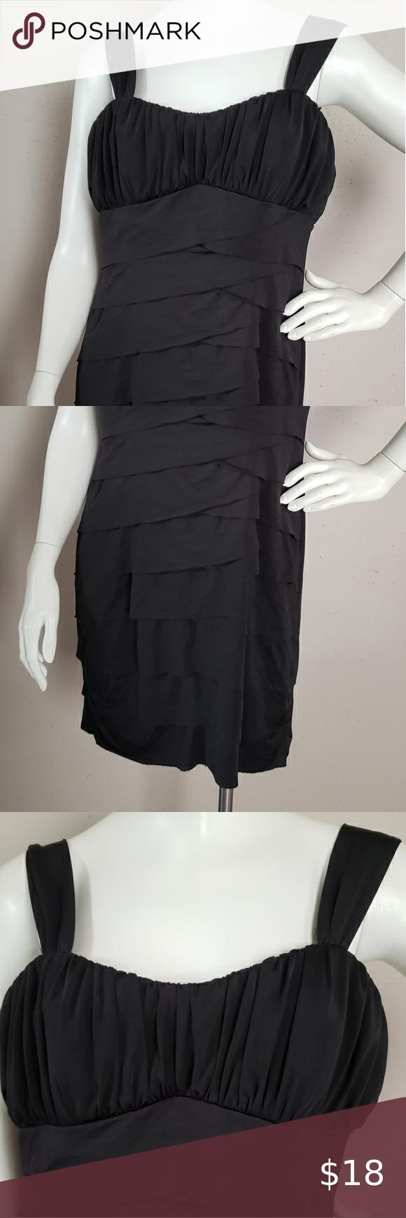 Pompous Girly Black Dress Women Size Xl Womens Black Dress Womens Dresses Black Dress [ 1740 x 580 Pixel ]