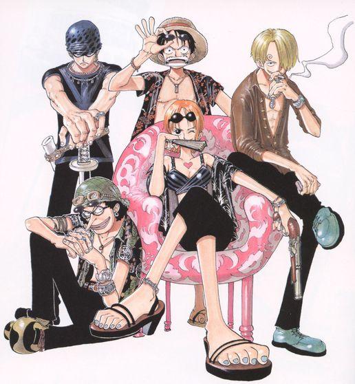 One Piece Monkey D Luffy Usopp Roronoa Zoro Nami: One Piece (Roronoa Zoro, Monkey D. Luffy, Sanji, Nami
