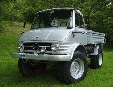 Pristine 1964 Mercedes Benz UNIMOG in the USA | Wagon Island Style
