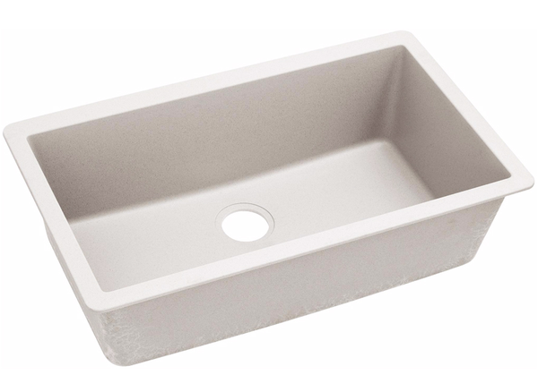 Elkay Quartz Luxe 33 Single Bowl Undermount Kitchen Sink Elxru13322 Sink Drop In Sink Undermount Sink