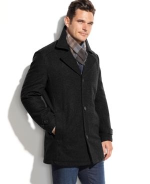 d5373e12 London Fog Men's Big & Tall Classic Car Coat - Black 3XL | Products ...