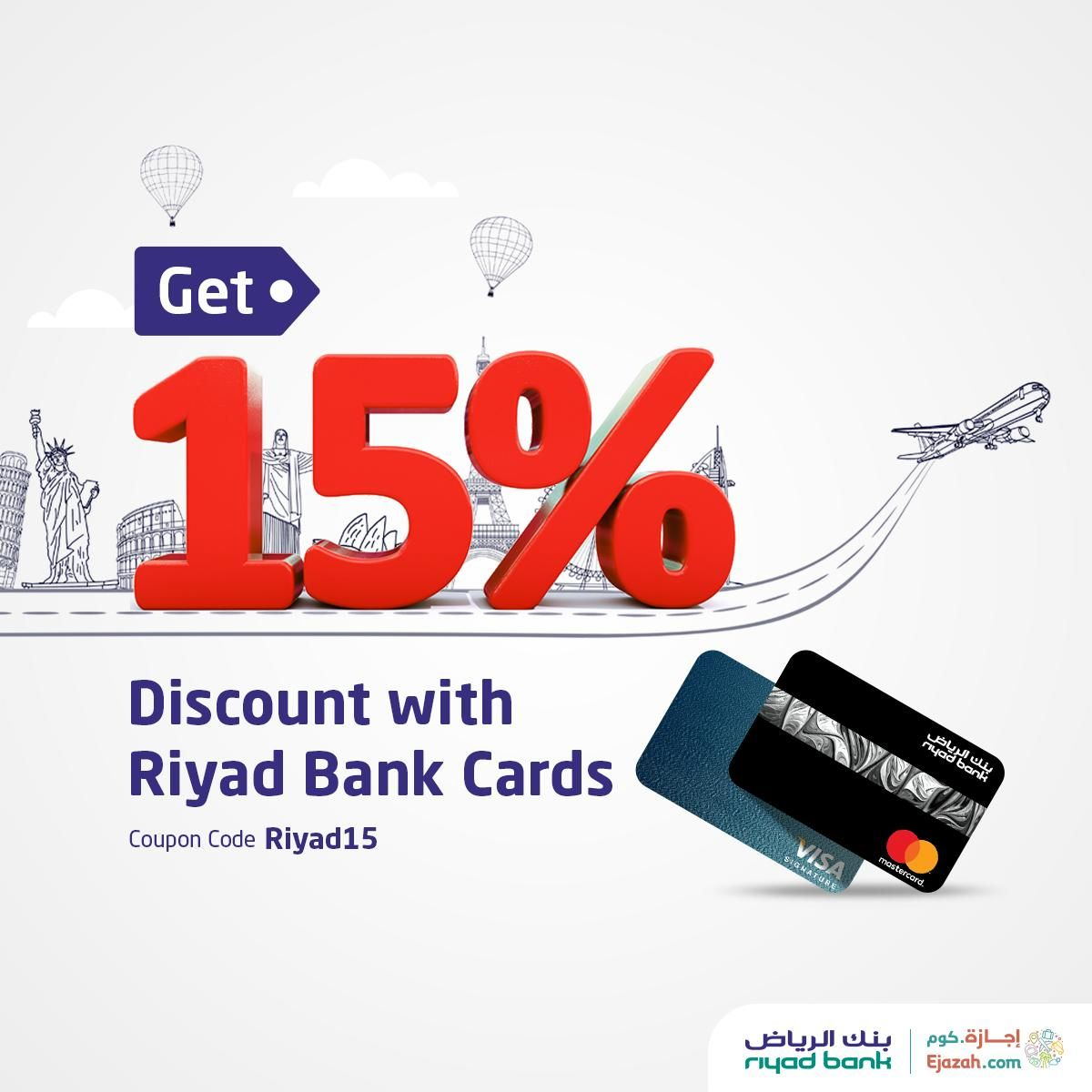 This Weekend Book Your Next Travel From Riyadh To Cairo And Save Big With Riyad Bank Cards Get Up To 15 Of Flight And Hotel Book Cheap Flights Cheap Flights