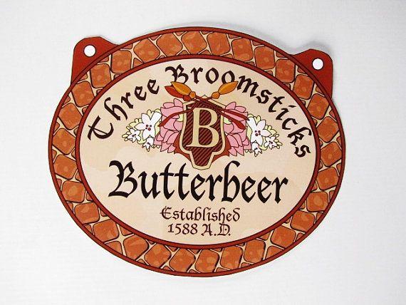 Harry Potter Butterbeer Logo Butterbeer Labels Prin...