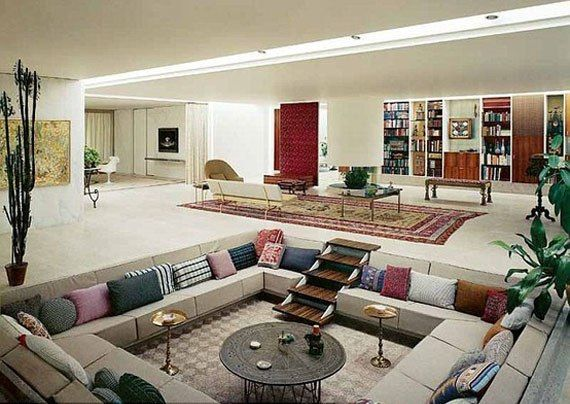 Best Sunken Living Room Designs 41 Conversation Pits My Home