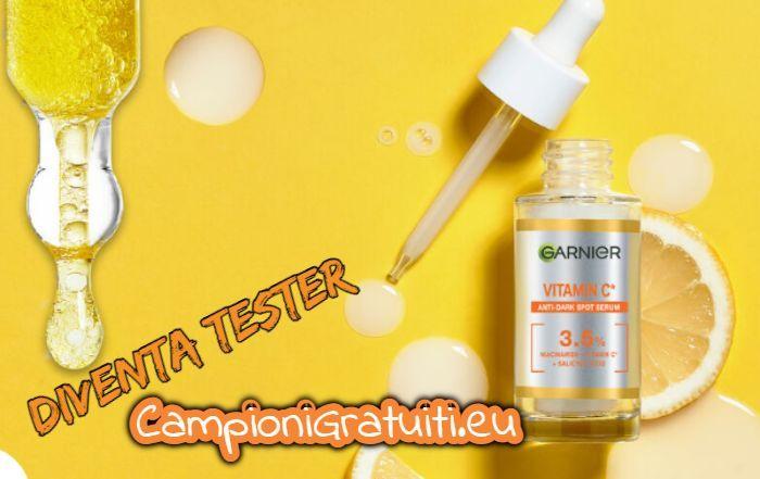 Diventa Tester Siero Vitamina C di Garnier con TRND