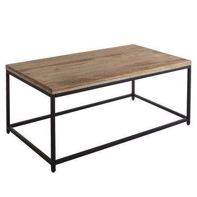Takat Natural Mango Wood Coffee Table Lofty Loft Mango