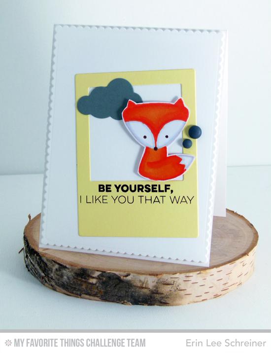 Die Schreiner foxy like you card by erin schreiner featuring the miss tiina