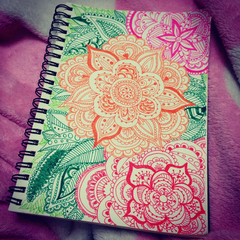 Coloring my life mandala doodle zentangle mandalas pinterest dessin art and mandala - Dessin mandela ...