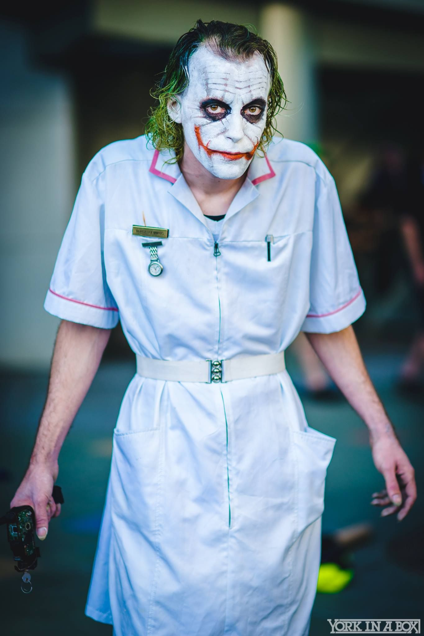 e17d7d12a3343 Nurse Joker by Joker & Harley- Agents of Chaos. — Photo by #YorkInABox  #Wondercon2015