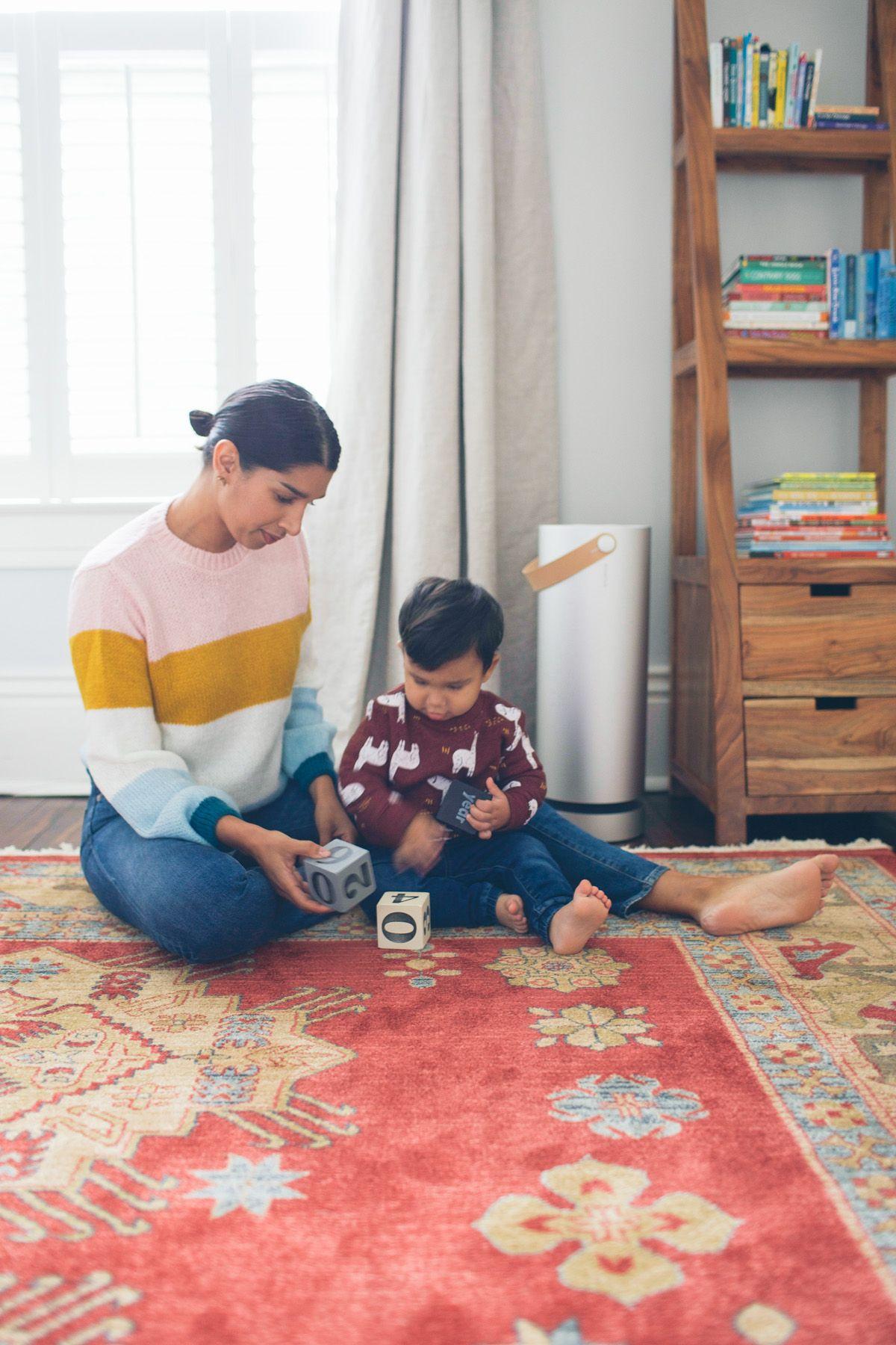 How We're Battling Allergies Air purifier, Kids rugs