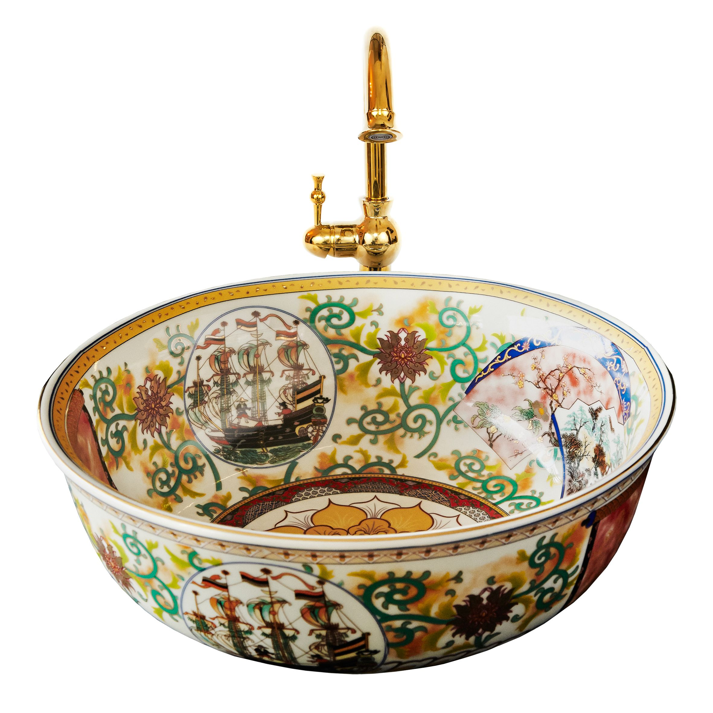 Badezimmer Set London A Hand Decorated Porcelain Basin From The London Basin Company