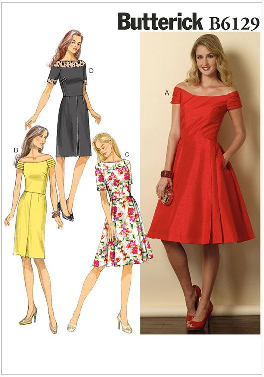 Miss Petite Dress Butterick Pattern 6129. | Patterns I have ...
