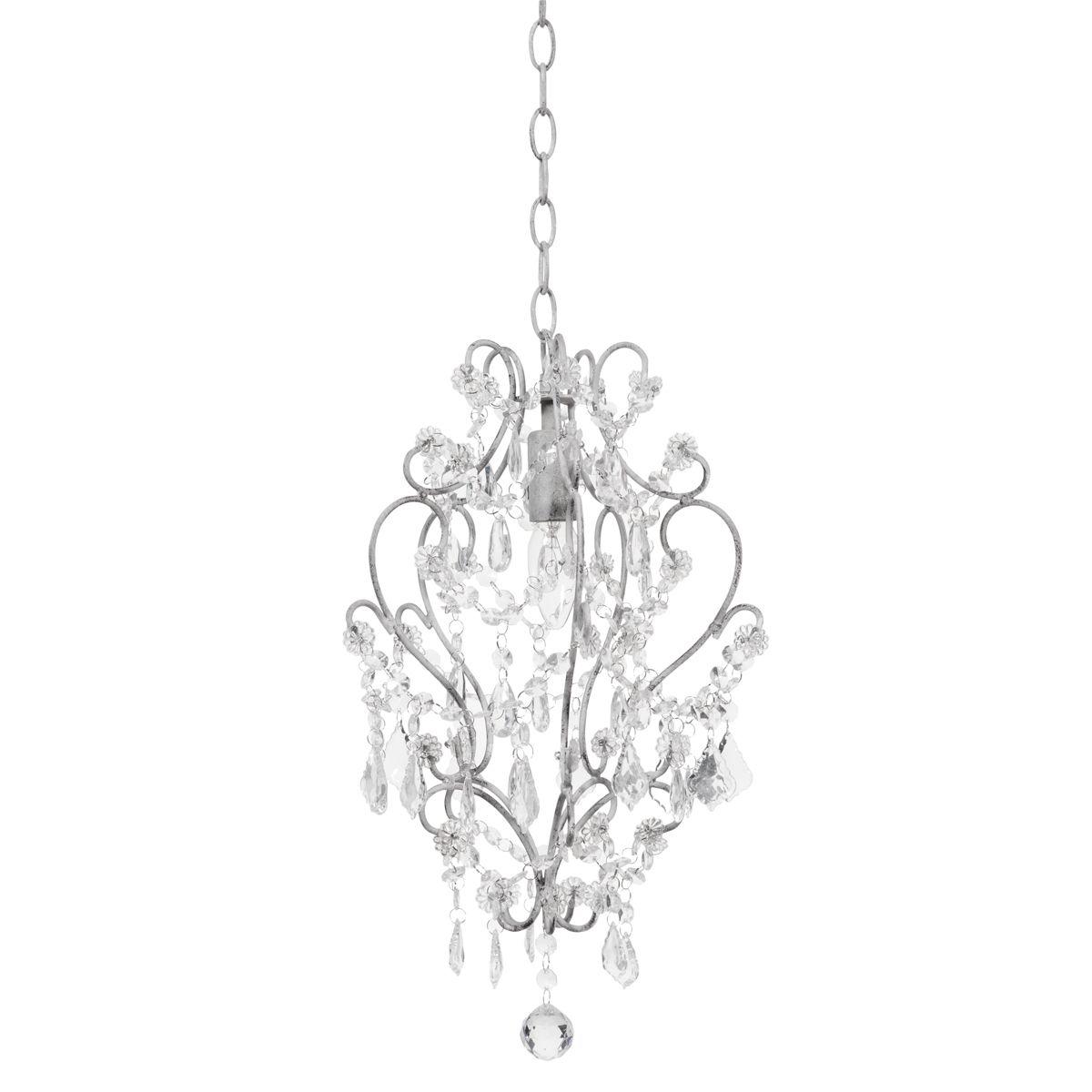 Lustre à pampilles en métal D 26 cm NOGENT | Luminaires | Pinterest ...