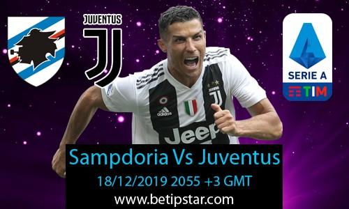 sampdoria vs juventus betting expert