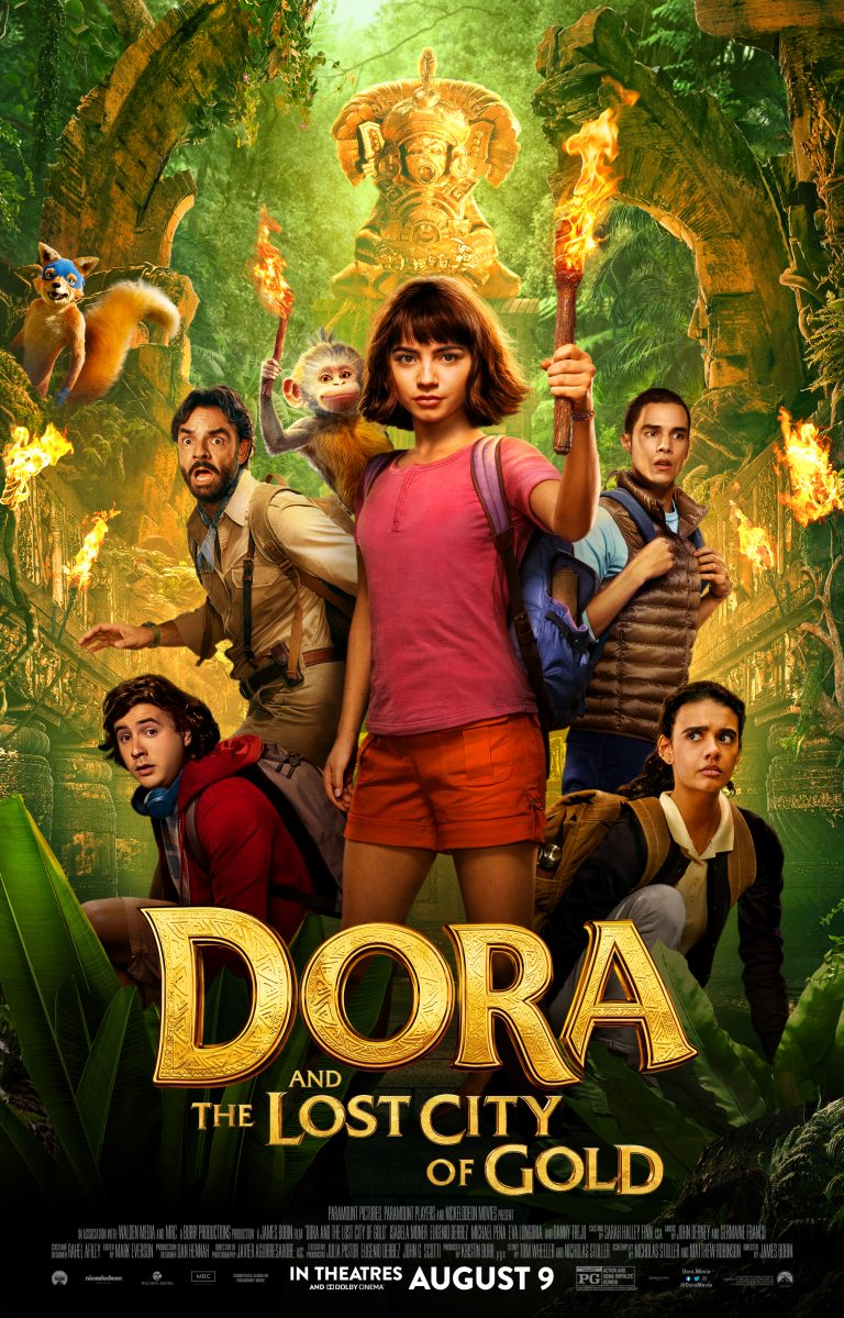 Dora And The Lost City Of Gold Review Vamos To The Movies Lost City Of Gold Gold Movie Streaming Movies