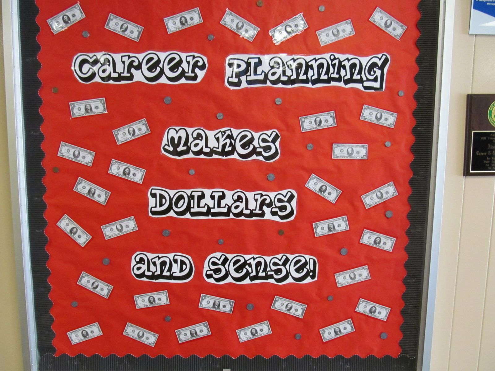 Career Counseling Bulletin Board