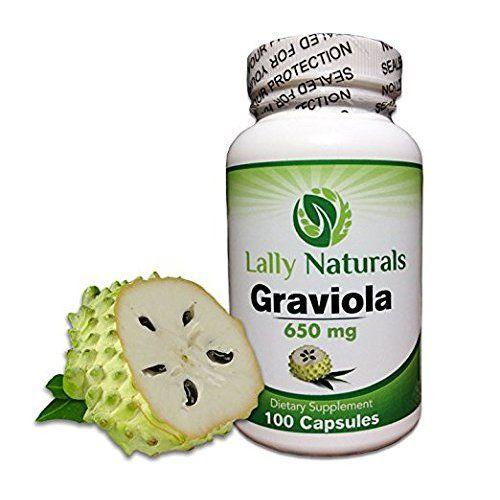 Biotech Nutritions Graviola 100% Pure Graviola 1300mg Per