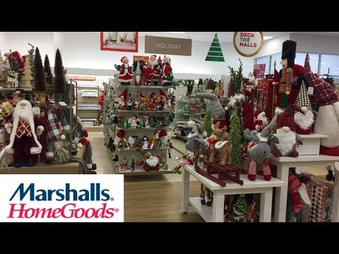 Marshalls Home Goods Christmas 2019 Decorations Decor Shop With Me Shopping Store Walk Through 4k Youtube Shop Decoration Decor Geometric Decor