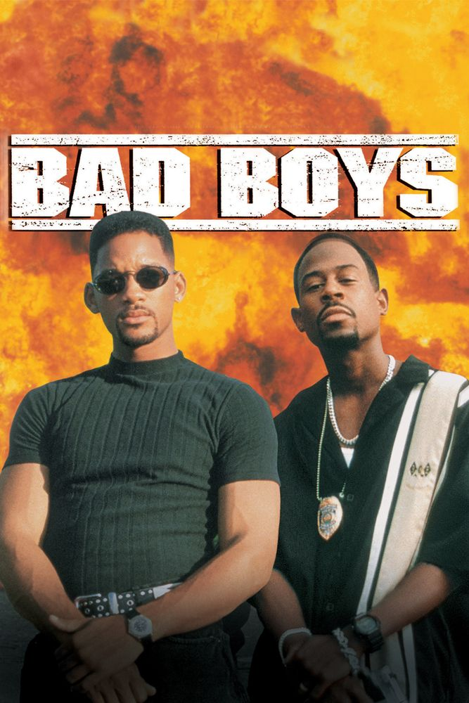 bad boys movie poster will smith martin lawrence t233a