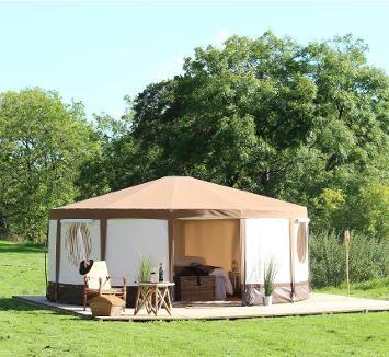 Yurt Gl&ing Holidays in Dorset & glamping Dorset Yurt holiday | Glamping in Leitrim | Pinterest ...