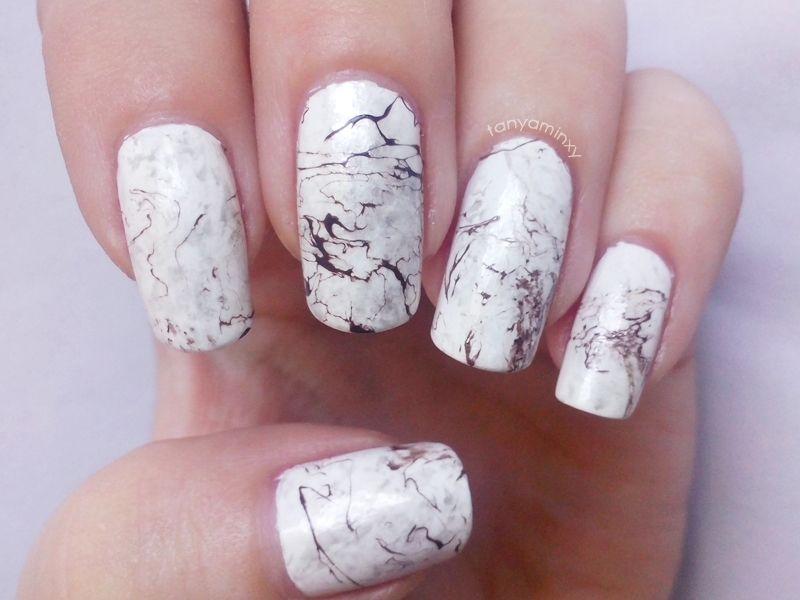Tanya Minxy Nails: Stone Marble Nails | Nails | Pinterest | Marble ...