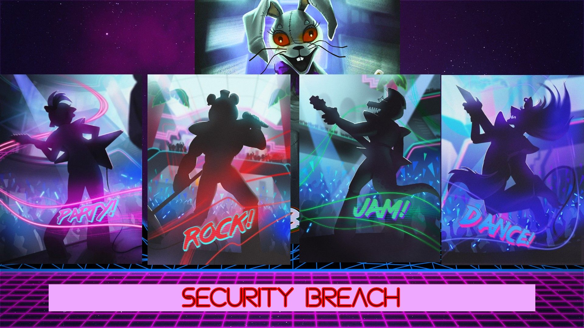FNAF SECURITY BREACH | Fnaf, Freddy s, Five nights at freddy's
