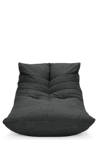 Buy Charcoal Fabric Bean Seat From The Next UK Online Shop