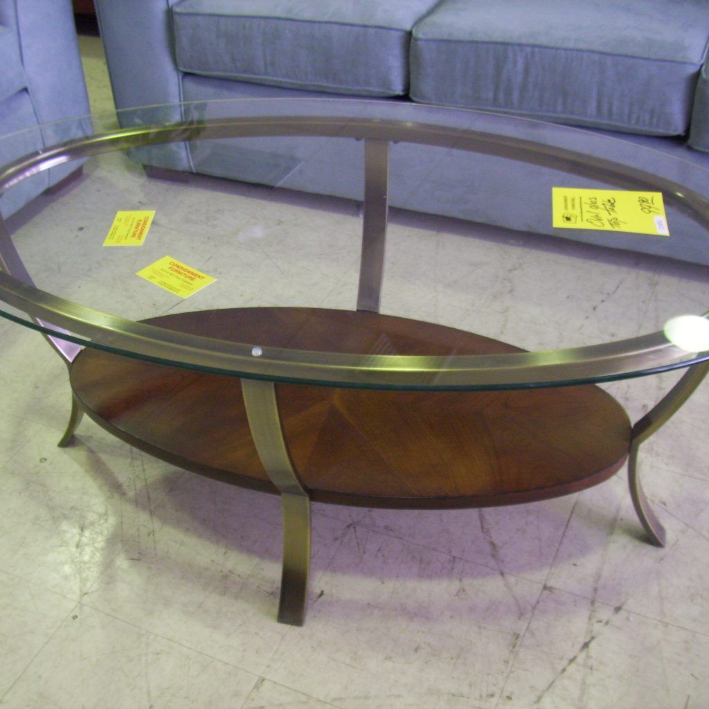 Modern glass end table  Large Round Glass Top Coffee Table  therapybychance