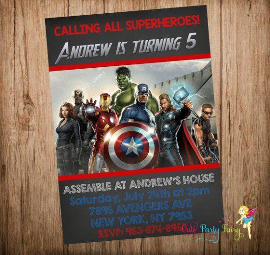 Avengers Birthday Party Ideas Birthday party ideas Party
