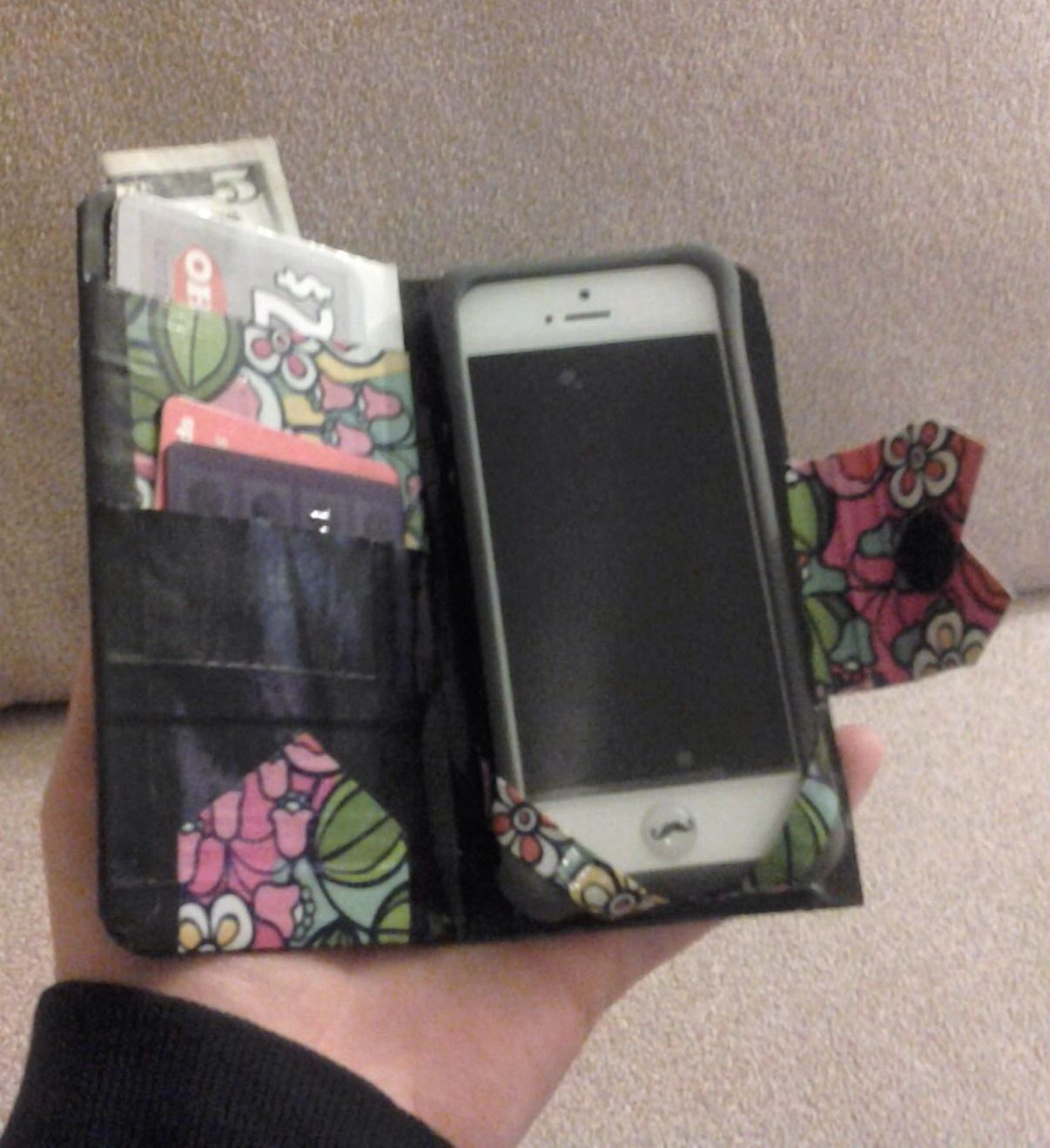 Duct Tape Credit Card Holder With Phone Duct Tape Crafts Duck Tape Crafts Duct Tape