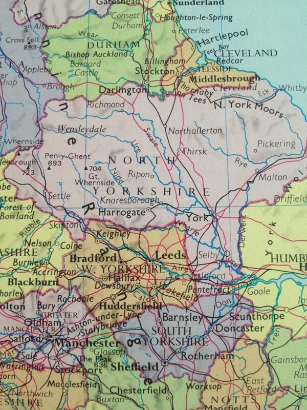 Harrogate England Map.Eleanorfaynicholson On In 2019 All Things Brit England