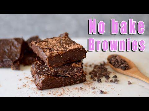 Chocolate brownies raw vegan healthy dessert no bake recipe chocolate brownies raw vegan healthy dessert no bake recipe youtube forumfinder Image collections